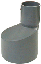 REDUCCION PVC GRIS