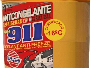 ANTICONGELANTE 911 EN GALON DE 3,7 LTS. VERDE