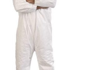 BUZO COVERALL BLANCO